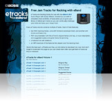 eTracks for eBand