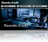 SonicCell Microsite