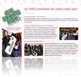 Girl Scouts Rock! Microsite