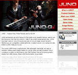 JUNO Series Microsite