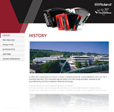 V-Accordion Microsite