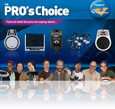 V-Drums: The Pro's Choice