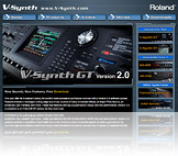 V-Synth Microsite