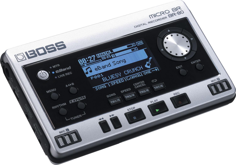 MICRO BR ® BR-80: Grabadora Digital
