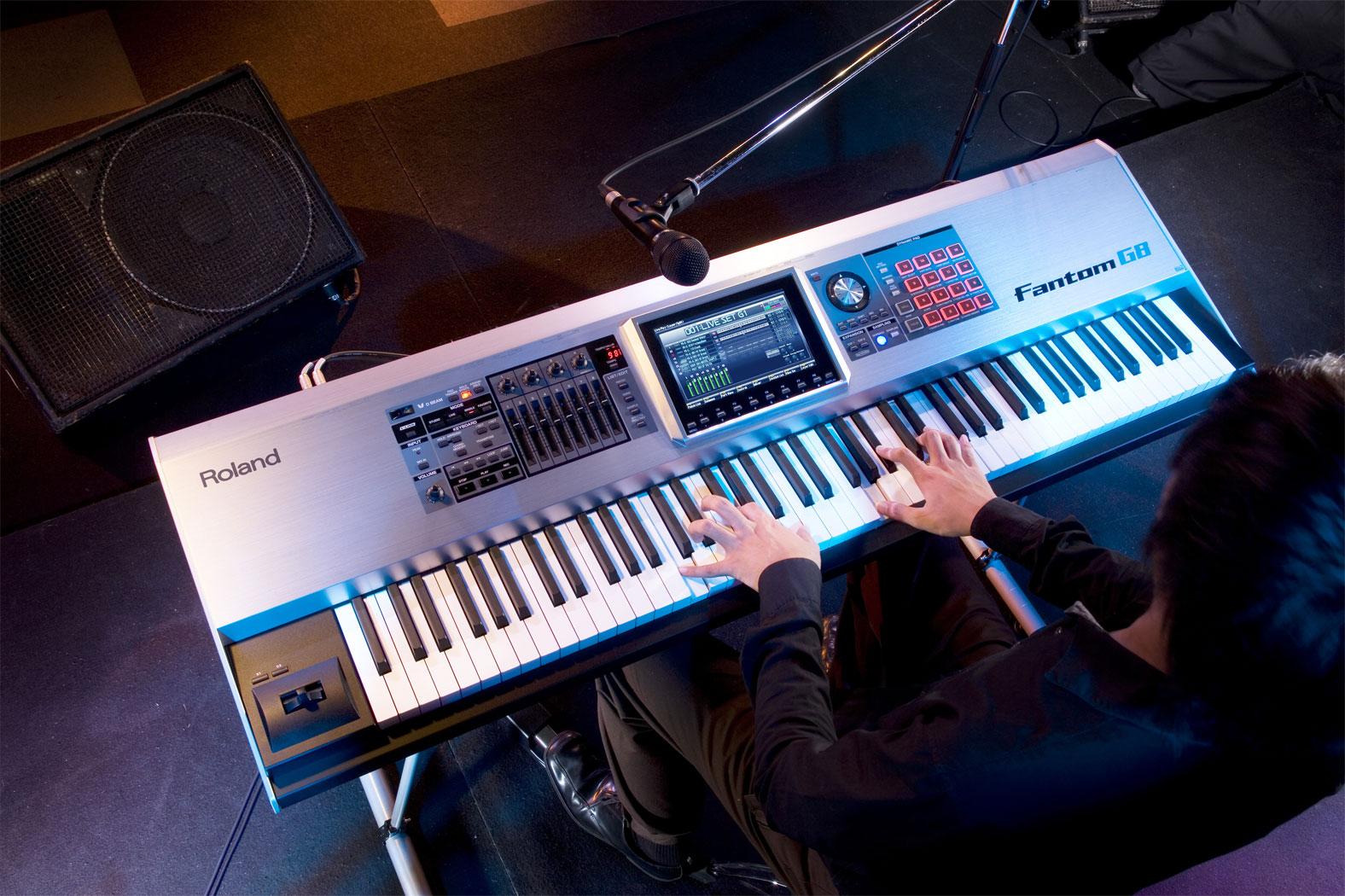 Concert Piano [Fantom G8]