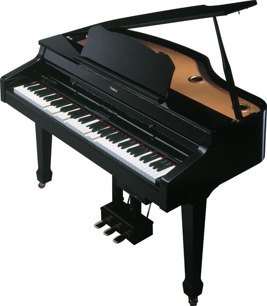 Digital mini grand player piano