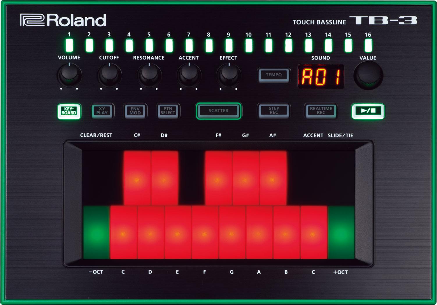 Roland Aira Tr 8 System 1 Tb 3 Vt 3 Sam Ash Music