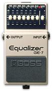 Гитарный эквалайзер Boss GE-7.