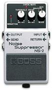 Гитарные процессоры BOSS.  Гитарная педаль Boss NS-2 Подавляет нежелательные шумы и гудение, не изменяя при этом...