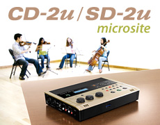 CD-2u/SD-2u Microsite