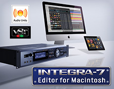 INTEGRA-7 Editor Mac