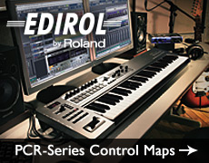Edirol PCR-Series Control Maps