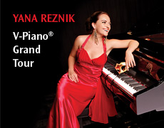 Yana Reznik V-Piano Grand Tour