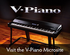 V-Piano Microsite
